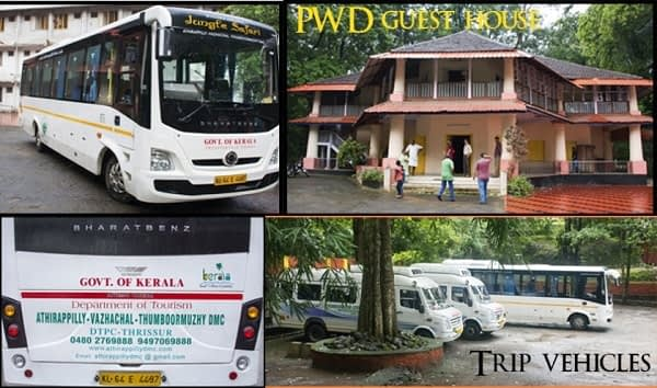 PWD Guest House Athirapally
