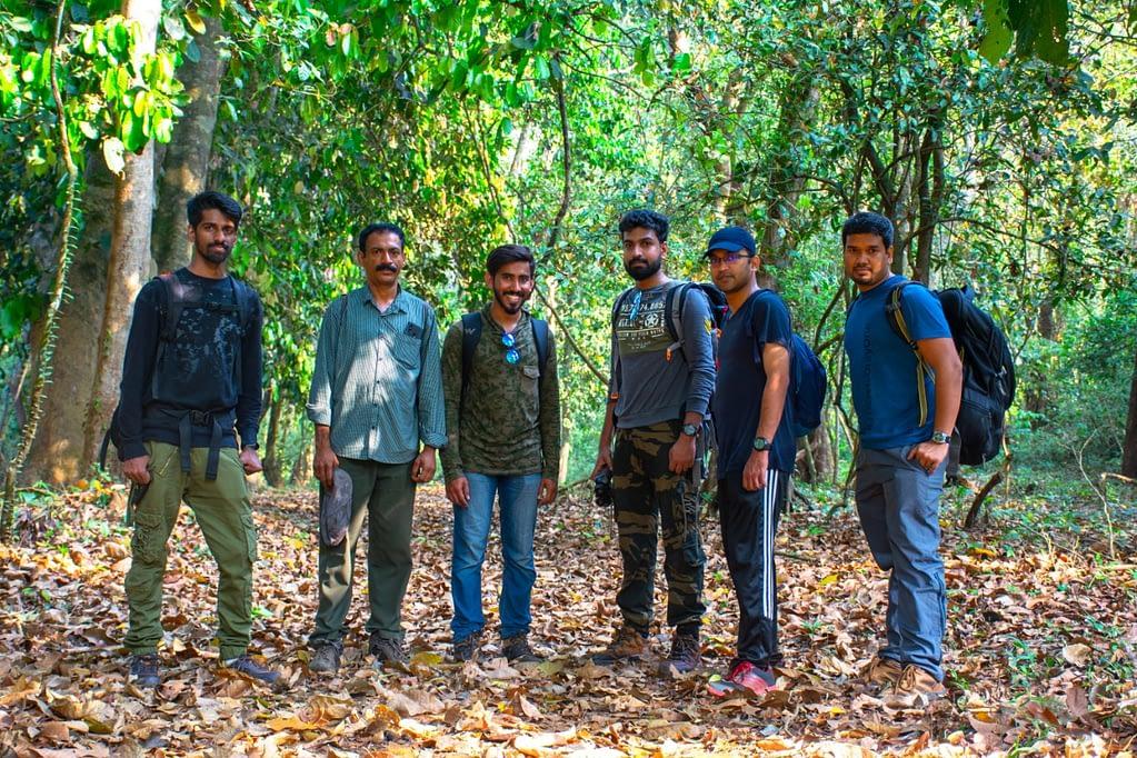 Inside Aralam Wildlife Sanctuary