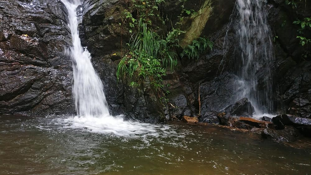 waterfall at Karuna