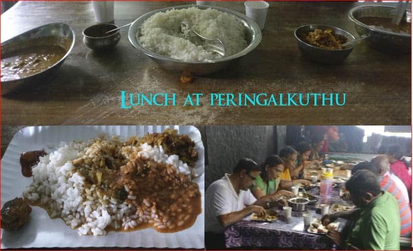 Kerala lunch